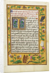 Decorated Text Page by Anonymous