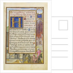 Border with Job Mocked by His Wife and Tormented by Two Devils by Simon Bening