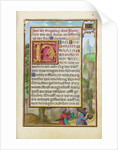 Border with Abraham and Isaac by Simon Bening