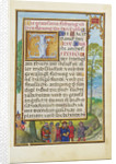 Border with the Arrest of Achior by Simon Bening