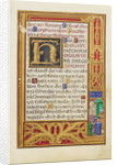Border with Jeremiah before Johoiakim by Simon Bening