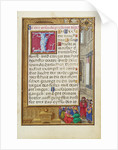Border with Samuel Putting forward Saul as King by Simon Bening