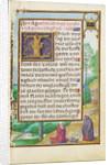 Border with Elijah Raising the Son of the Widow of Sareptha by Simon Bening