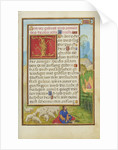 Border with Moses and the Burning Bush by Simon Bening