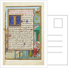 Border with Samuel Brought before Eli by Simon Bening