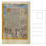 Border with Scenes from the Life of Saint John by Master of the Lübeck Bible