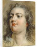 Head of King Louis XV by François Le Moyne