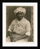 Black Woman in Cap and Gingham Dress by Doris Ulmann