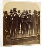 I.K. Brunel and Others Observing the Great Eastern Launch Attempt by Robert Howlett