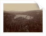 Dams and Lake, Nevada County, California, Distant View by Carleton Watkins