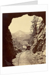 Cameron's Cone from Tunnel 4, Colorado Midland Railway by William Henry Jackson