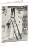 Interior of Mr. Hooker's House, Sichimovi by A.C. Vroman