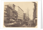 Broadway, looking north from Broome Street, New York by Silas A. Holmes