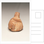 Fragmentary Neolithic seated female figurine by Anonymous