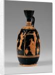 Attic Red-Figure Lekythos by Circle of Meidias Painter