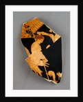 Fragment of an Apulian Red-Figure Bell Krater by Black Fury Group