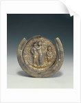 Bowl with a Medallion Depicting Dionysos and Ariadne by Anonymous