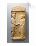 Grave Stele of Philoxenos with his Wife, Philoumene by Anonymous