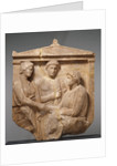Grave Naiskos of Theogenis with her Mother, Nikomache, and her Brother Nikodemos by Anonymous