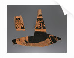 Attic Red-Figure Calyx Krater Fragments (2) by Euphronios