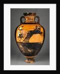 Attic Panathenaic Amphora by Kleophrades Painter