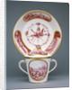 Covered Cup and Saucer (gobelet à lait et soucoupe, deuxième grandeur) by Sèvres Manufactory