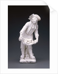 Figure of a Street Vendor by Mennecy Porcelain Manufactory