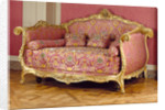 Bed (Lit à la turque) by Jean-Baptiste Tilliard