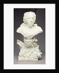 Bust of Louis XV by Mennecy Porcelain Manufactory