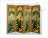 Four-Panel Screen (paravent) by Anonymous