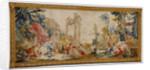 Tapestry: Bacchus et Arainne, Bacchus changé en raisin, from The Loves of the Gods Series by Anonymous