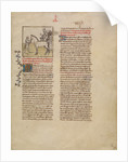 Alexander the Great by First Master of the Bible historiale of Jean de Berry
