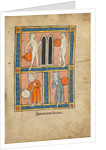 Men with Shields and Weapons by Anonymous