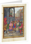 Christ Led from Herod to Pilate by Simon Bening
