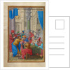 Judas Receiving the Thirty Pieces of Silver by Simon Bening