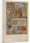 Saint Barbara with a Tower by Workshop of Master of the First Prayer Book of Maximilian