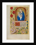 The Virgin and Child by Workshop of Master of the First Prayer Book of Maximilian
