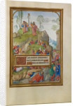 Moses and the Brazen Serpent by Master of James IV of Scotland
