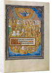 Female Martyrs and Saints Worshipping the Lamb of God by Master of James IV of Scotland