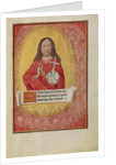 Christ in Majesty by Workshop of Master of the First Prayer Book of Maximilian