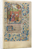 David in Prayer by Willem Vrelant