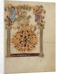 Decorated Initial D by Nivardus of Milan