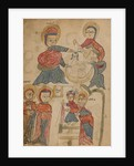 Bathing the Christ Child and The Presentation in the Temple by Anonymous