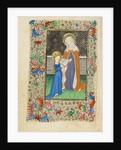 Saint Anne Teaching the Virgin to Read by Master of Sir John Fastolf