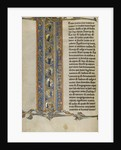 Initial I: Scenes of the Creation of the World and the Crucifixion by Anonymous
