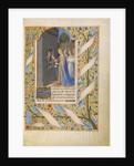 Saint Avia in Prison Receiving Communion from the Virgin by Jean Bourdichon