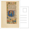 Initial G: Saint Catherine by Master of the Dresden Prayer Book