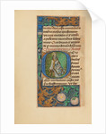 Initial O: Saint Gregory by Master of the Dresden Prayer Book