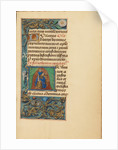 Initial J: Saint John the Evangelist by Master of the Dresden Prayer Book
