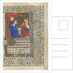 A Patron Presented to the Virgin and Child by Workshop of the Boucicaut Master